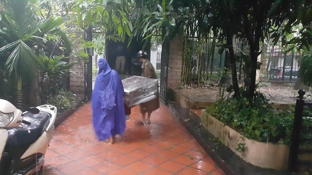 Chuyển nhà gặp trời mưa sẽ mang đến may mắn cho chủ nhân